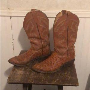 Men's sea bass cowboy boots